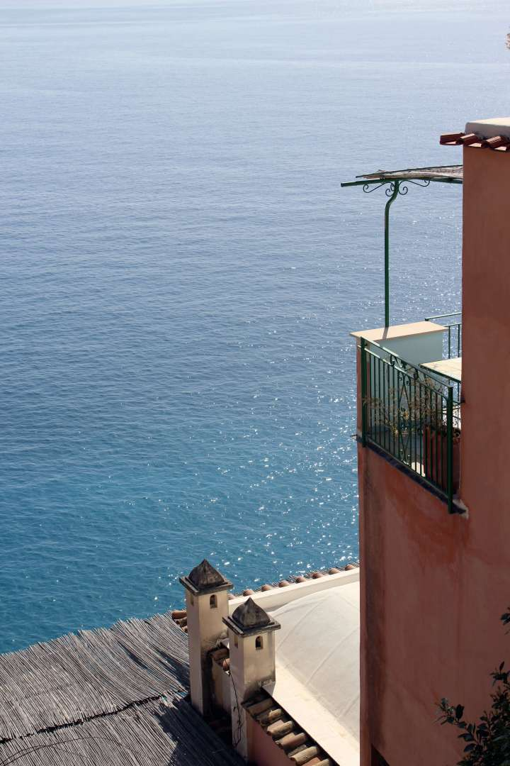 Love Affair with Positano - Balcony View of Mediterranean