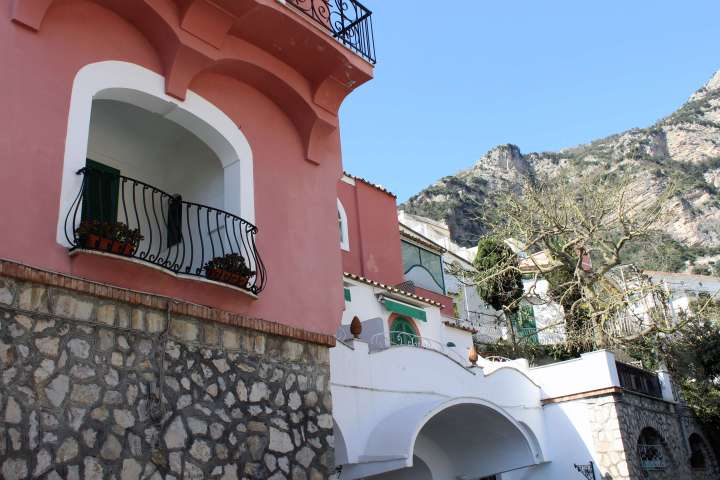 Love Affair with Positano - Colorful Building
