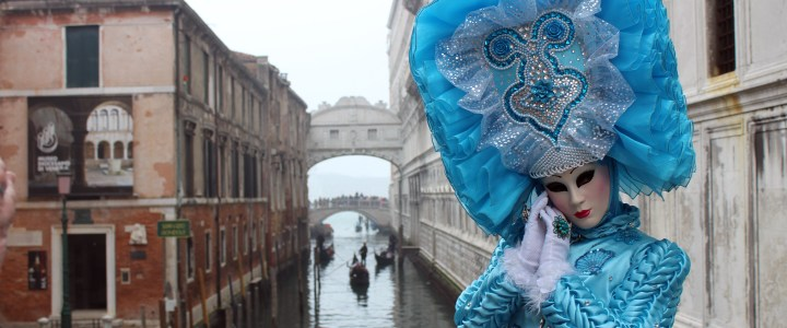 "24 Hours in Venice During ""Carnevale"""