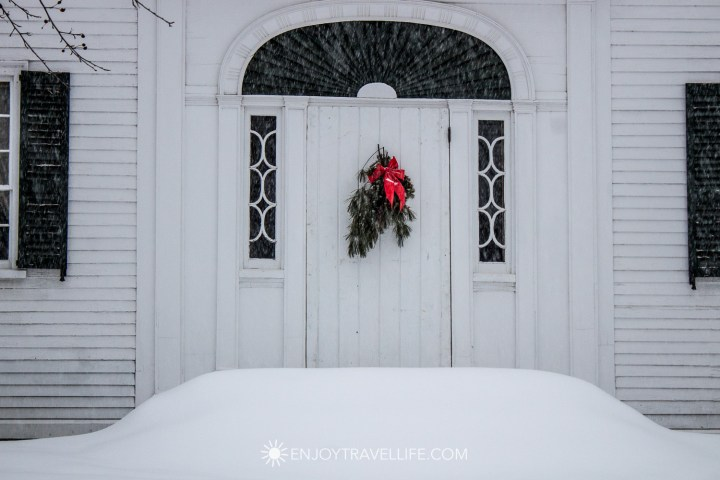 Winter in Bethel Maine | The Moses Mason House