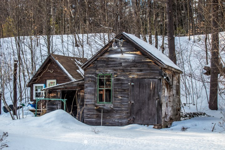 Winter in Bethel Maine | Rustic Shack