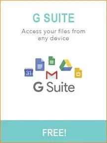 Best Blogging Tools - G Suite