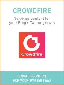 Best Blogging Tools - Crowdfire