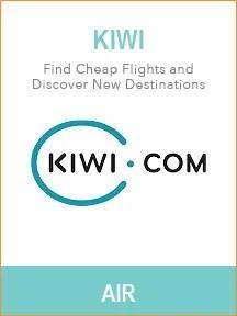 Best travel websites for trip planning - Kiwi