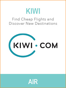 Best travel websites for trip planning - Kiwi