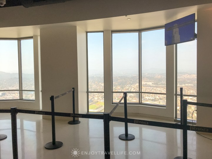 best views of downtown Los Angeles - OUE Skyspace Los Angeles