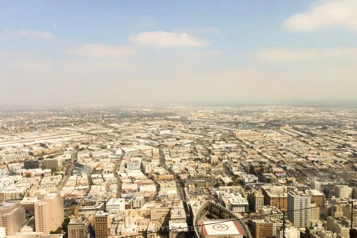 best views of downtown Los Angeles - OUE Skyspace Los Angeles