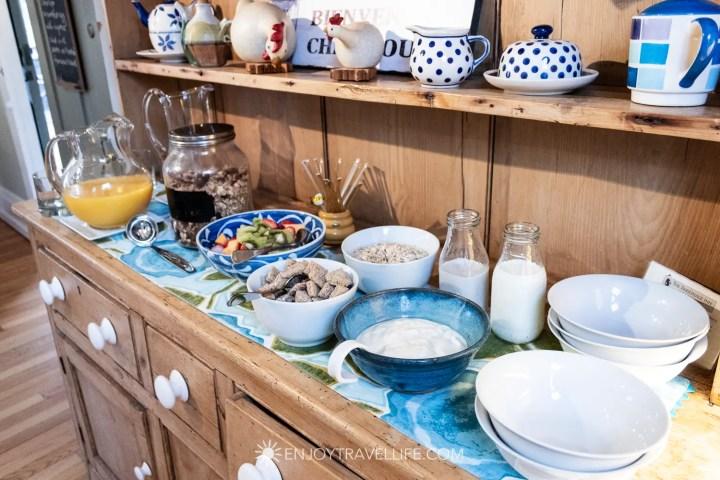 The Parsonage Inn Orleans Cape Cod Outer Cape Escape Breakfast Buffet