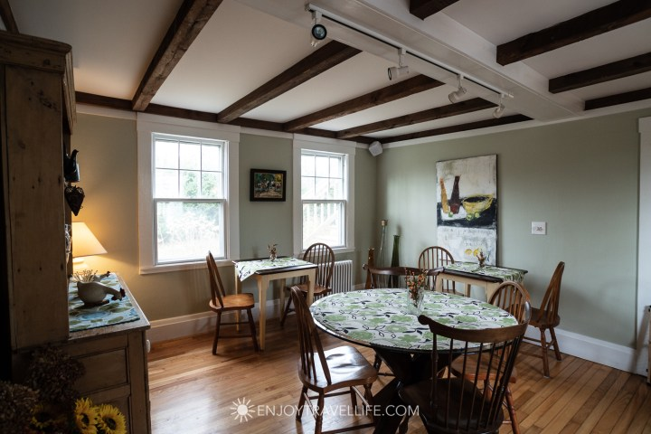 The Parsonage Inn Orleans Cape Cod Outer Cape Escape Dining Room
