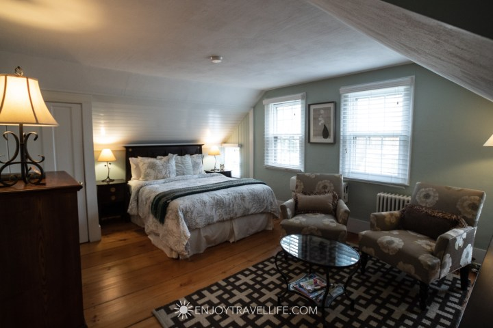 The Parsonage Inn Orleans Cape Cod Outer Cape Escape upstairs room