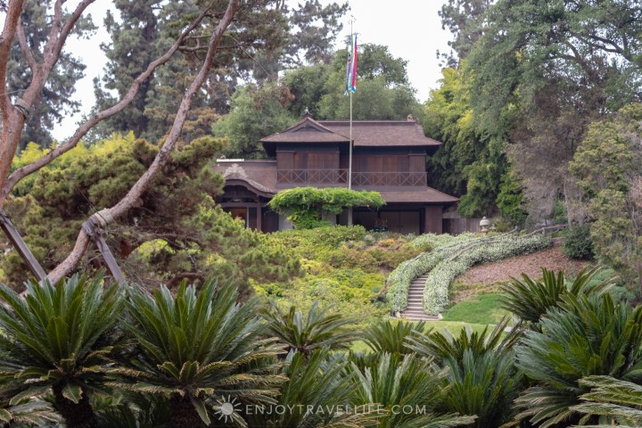 Pagoda at The Huntington Japanese Botanical Garden