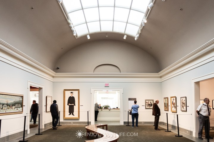 Gallery at the Norman Rockwell Museum in Stockbridge Ma