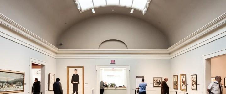 Norman Rockwell Museum in Stockbridge MA Interior