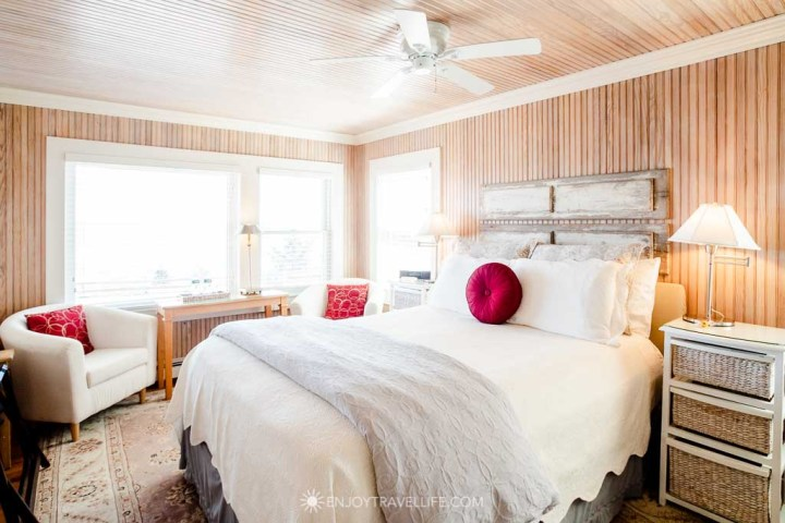 Breezy room at Falmouth boutique hotel