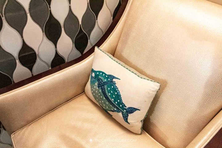 Comfortable seating at North End Seafood Restaurant il Molo