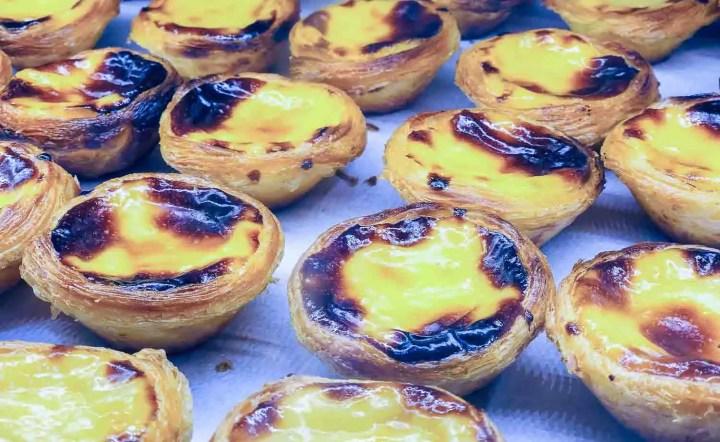 Pastel de Nata, a famous custard dish from Lisbon