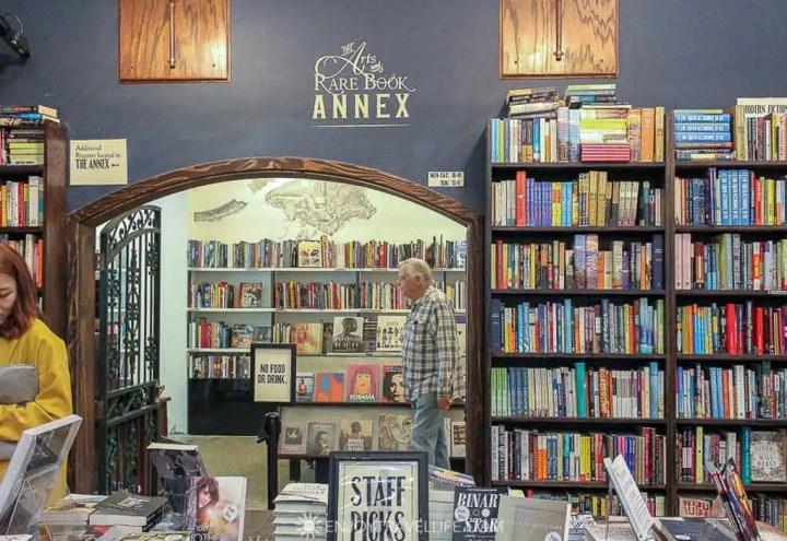 The Arts and Rare Book Annex at The Last Bookstore, Downtown LA