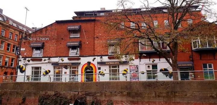 Gay Village in Manchester, UK