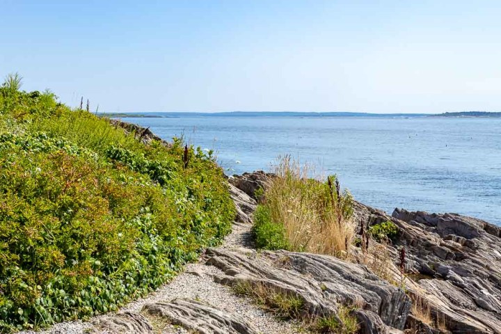 Lands End in Harpswell (Bailey Island Maine)