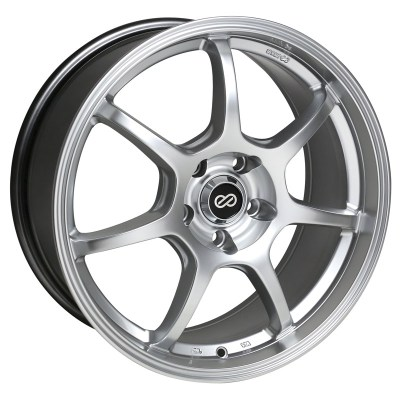 Enkei GT7 Silver Wheels