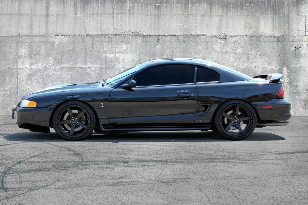Whiteline SN95 Mustang On Enkei Kojin Tuning Series Wheels