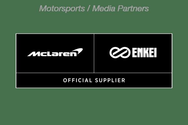 McLaren Enkei Partner logo