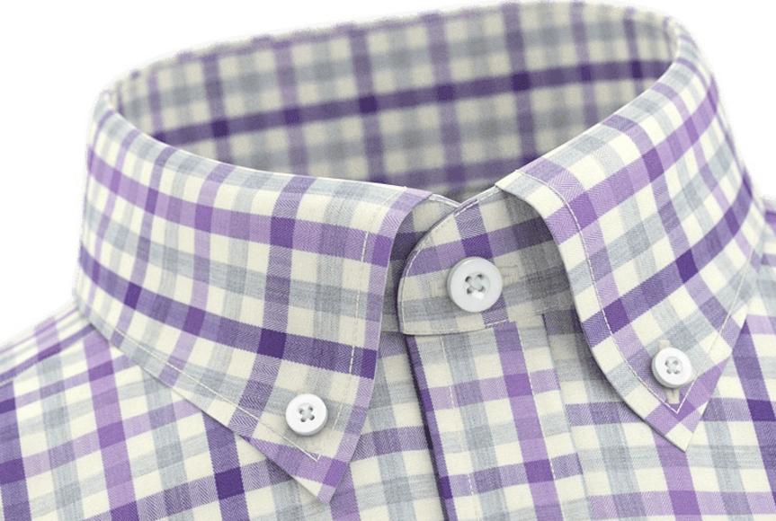 2edf6c7b Button-down-skjorte i 100% egyptisk bomull fra TailorStore
