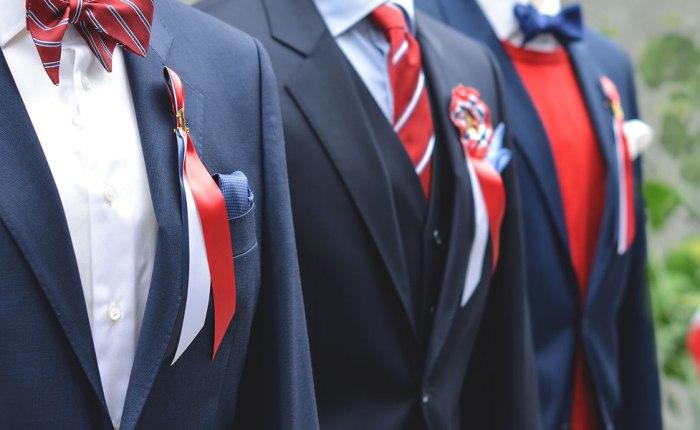 Norge i dress, skjorte og slips!