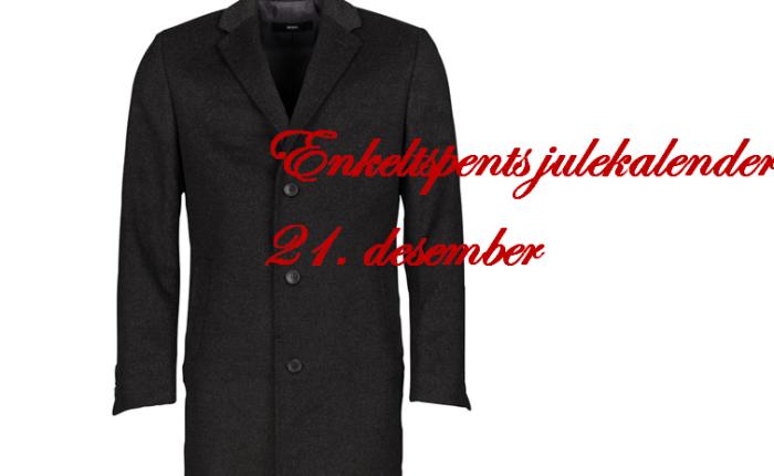 Mørk frakk