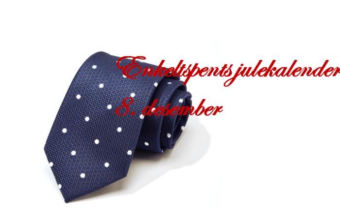 Blått slips