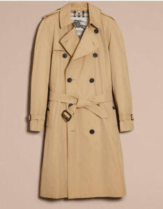 The Westminster Long Heritage Trench Coat fra Burerry (foto: Burberry)