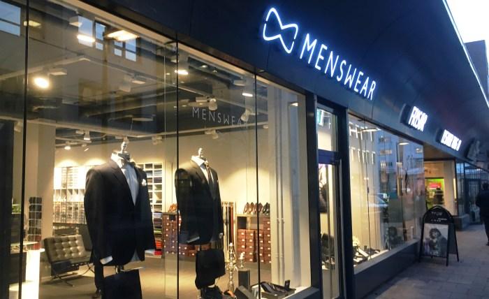 Menswears fysiske butikk på Lysakerlokket i Oslo