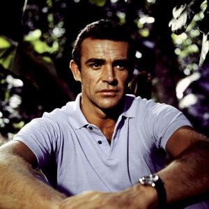 Sean Connery som James Bond i Dr. NO (1962)