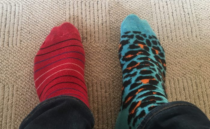 Ulike sokker