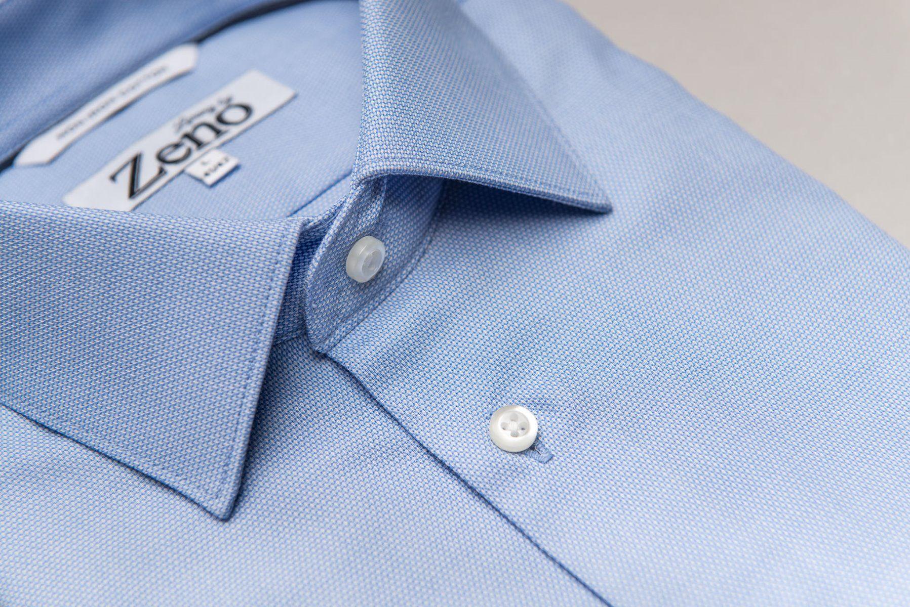 Royal Oxford Light Blue Strykefri Skjorte