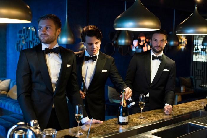 37726efd Det er lite som er så stilig som et selskap der alle menn er i smoking.  (Foto: Menswear)
