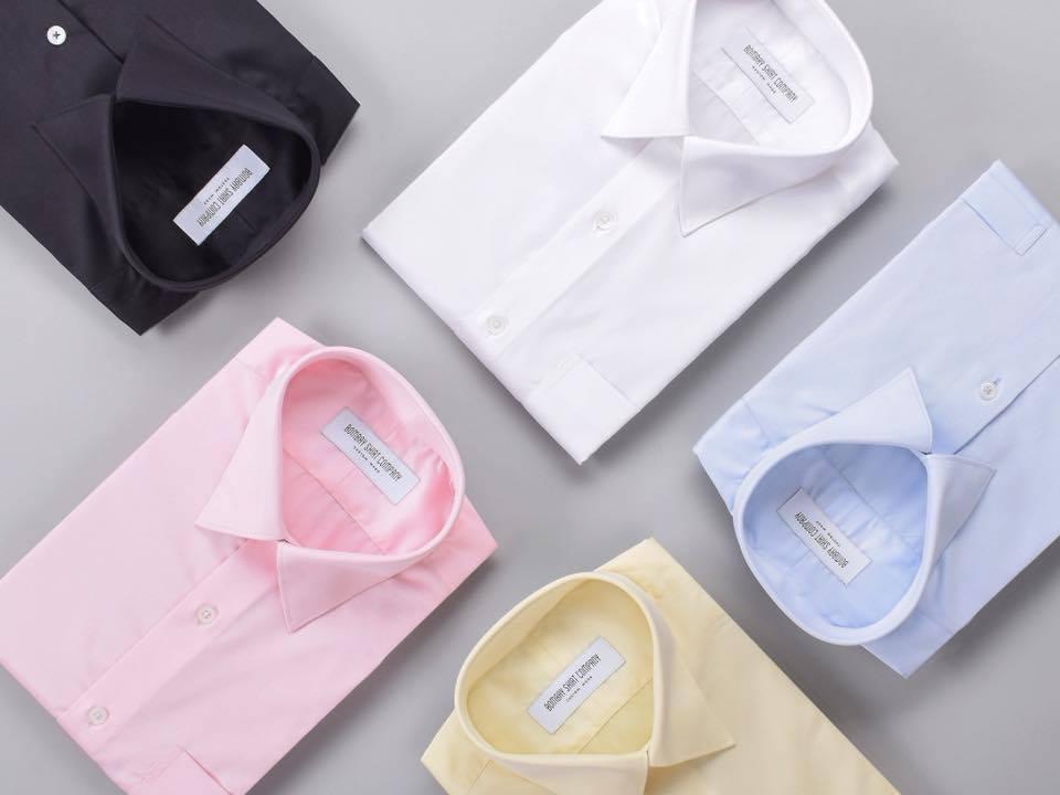 Målsydd skjorte fra Bombay Shirt Company – Enkeltspent