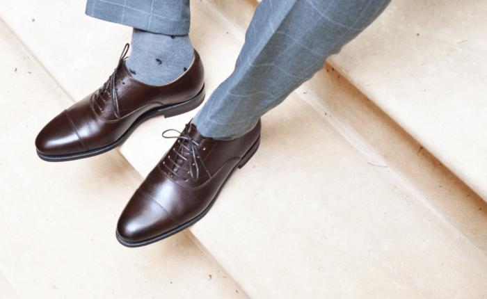 sokker og sko – Enkeltspent