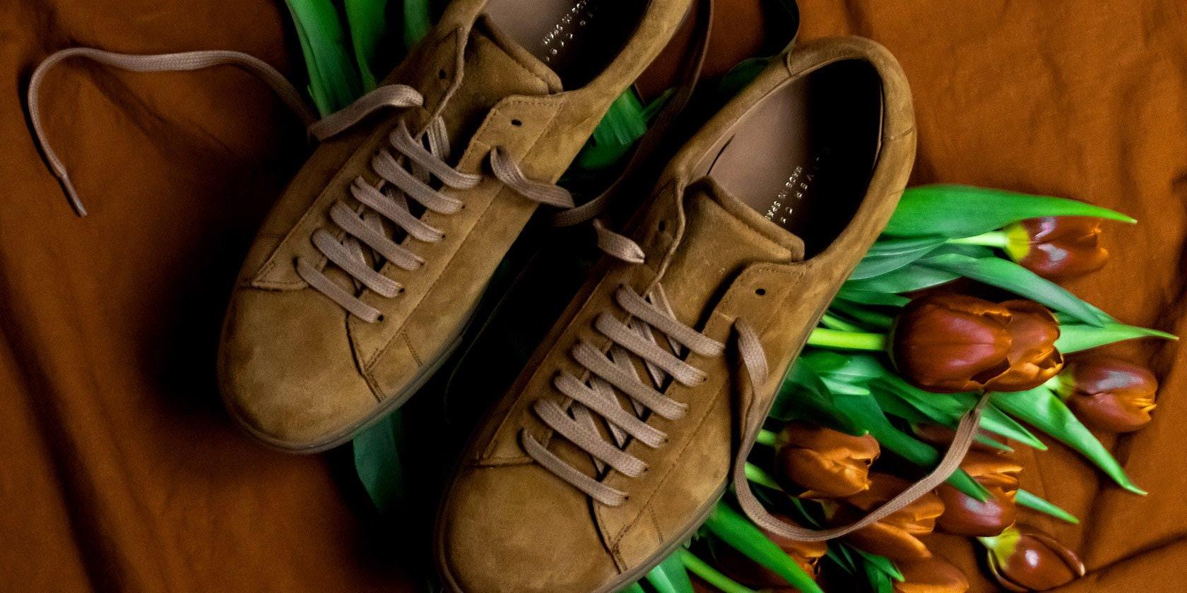 Semskede sneakers fra Oliver Cabell </p>                     </div>   <!--bof Product URL --> <!--eof Product URL --> <!--bof Quantity Discounts table --> <!--eof Quantity Discounts table --> </div>                        </dd> <dt class=