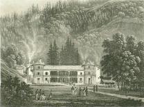 Samuel Birmann (suisse, 1793-1847) - Les Bains de Saint Gervais, 1830