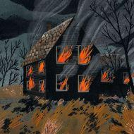 House Fire by Becca Stadtlander