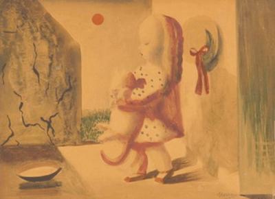 Nura Woodson Ulreich - Supper, 1950