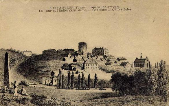 Saint-Sauveur-en-Puisaye, gravure