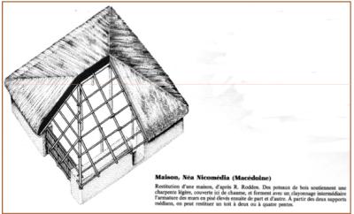 maison à Néa Nicomédia (Macédoine)