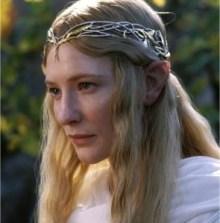 Galadriel, une gentille Elfe (le seigneur des anneaux)