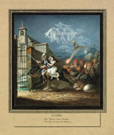 Lenore - illustration de Carl von Heudeck.