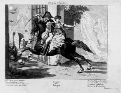 Lénore - illustration de Peter carl Geissler - 1812