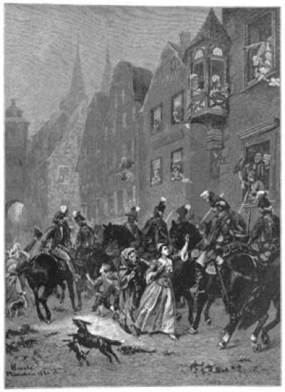 Léonore - illustration de Wilhelm Emelé -1884