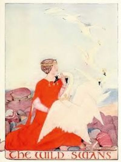 les Cygnes sauvages - illustration, Maxwell Armfield - 1910