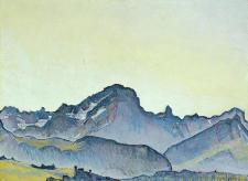 Ferdinand Hodler - Le Grand Muveran - 1911